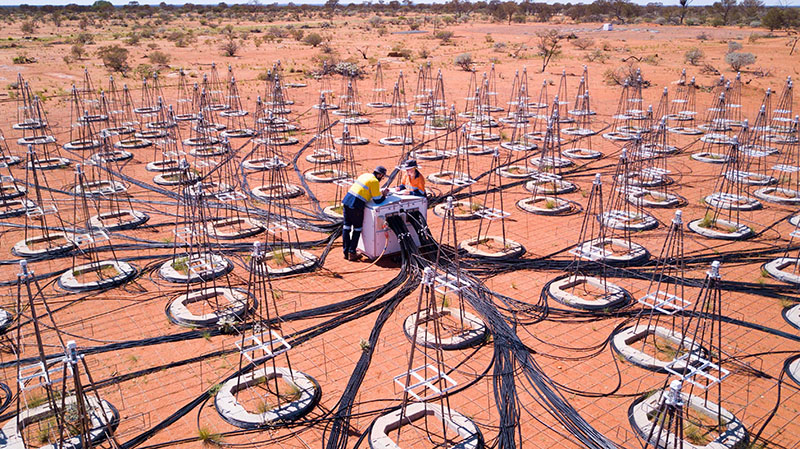 Working in International Centre for Radio Astronomy Research (ICRAR)
