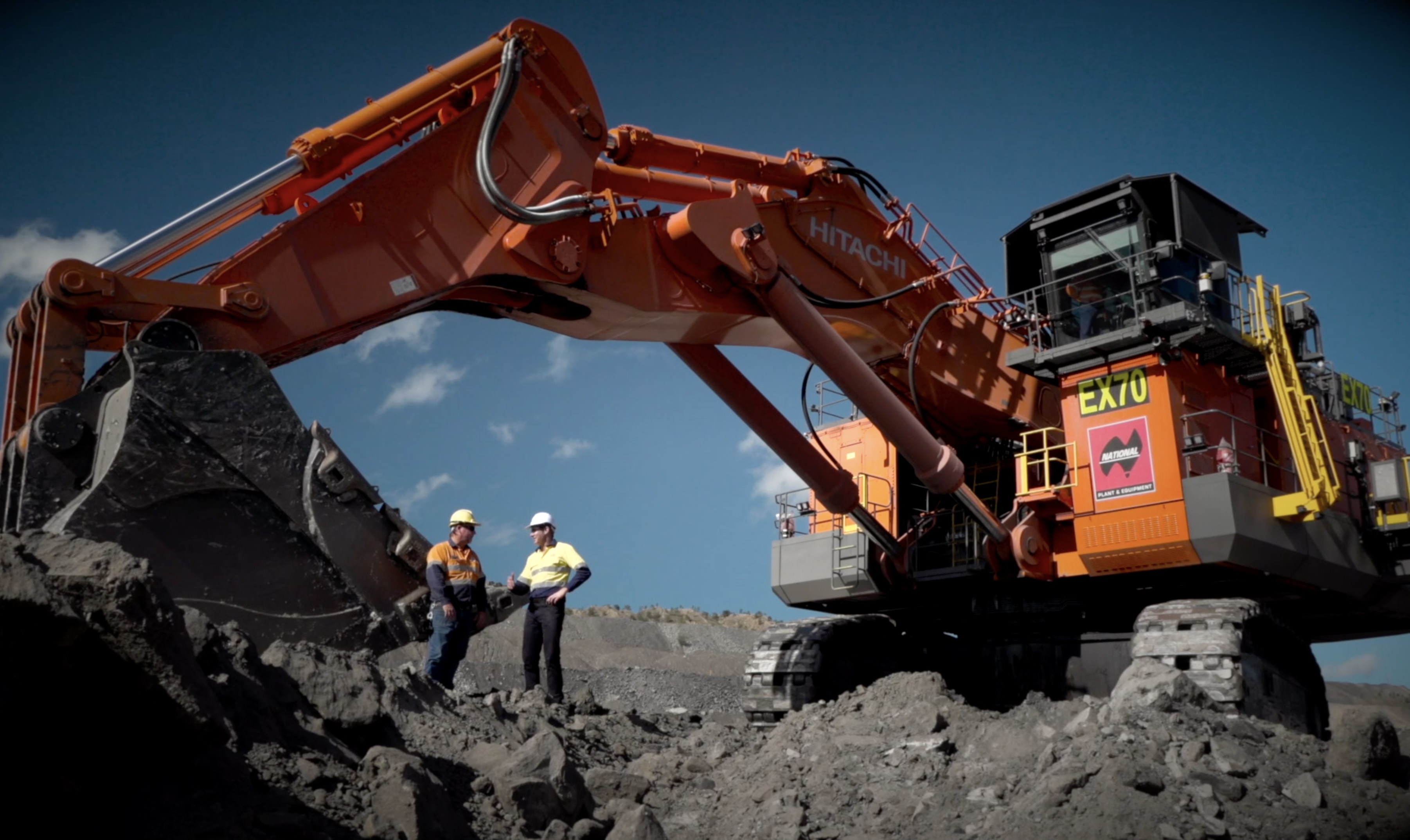 National Group's Excavator Delivery to BHP